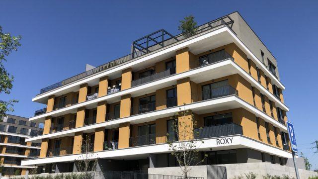 Na prenájom novostavba 1 izbový byt s loggiou, Bratislava, Ružinov, Bajkalská ul.