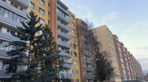 Na predaj 1 izbový byt s loggiou, Bratislava, Karlova Ves, Karloveská ulica