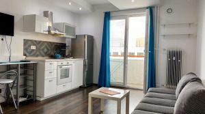 Na prenájom 1 izbový byt, Bratislava, Nové Mesto, Račianska ul.