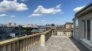 Na prenájom 1,5 izbový byt s veľkou terasou, Bratislava, Staré Mesto, Šancova ul.