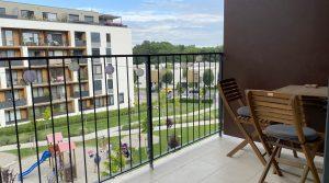 Na prenájom novostavba 1 izbový byt s loggiou, Bratislava, Petržalka, Slnečnice