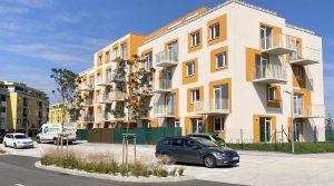 Na predaj 1 izbový byt, novostavba AMBER, Devínska Nová Ves, Bystrická ul.